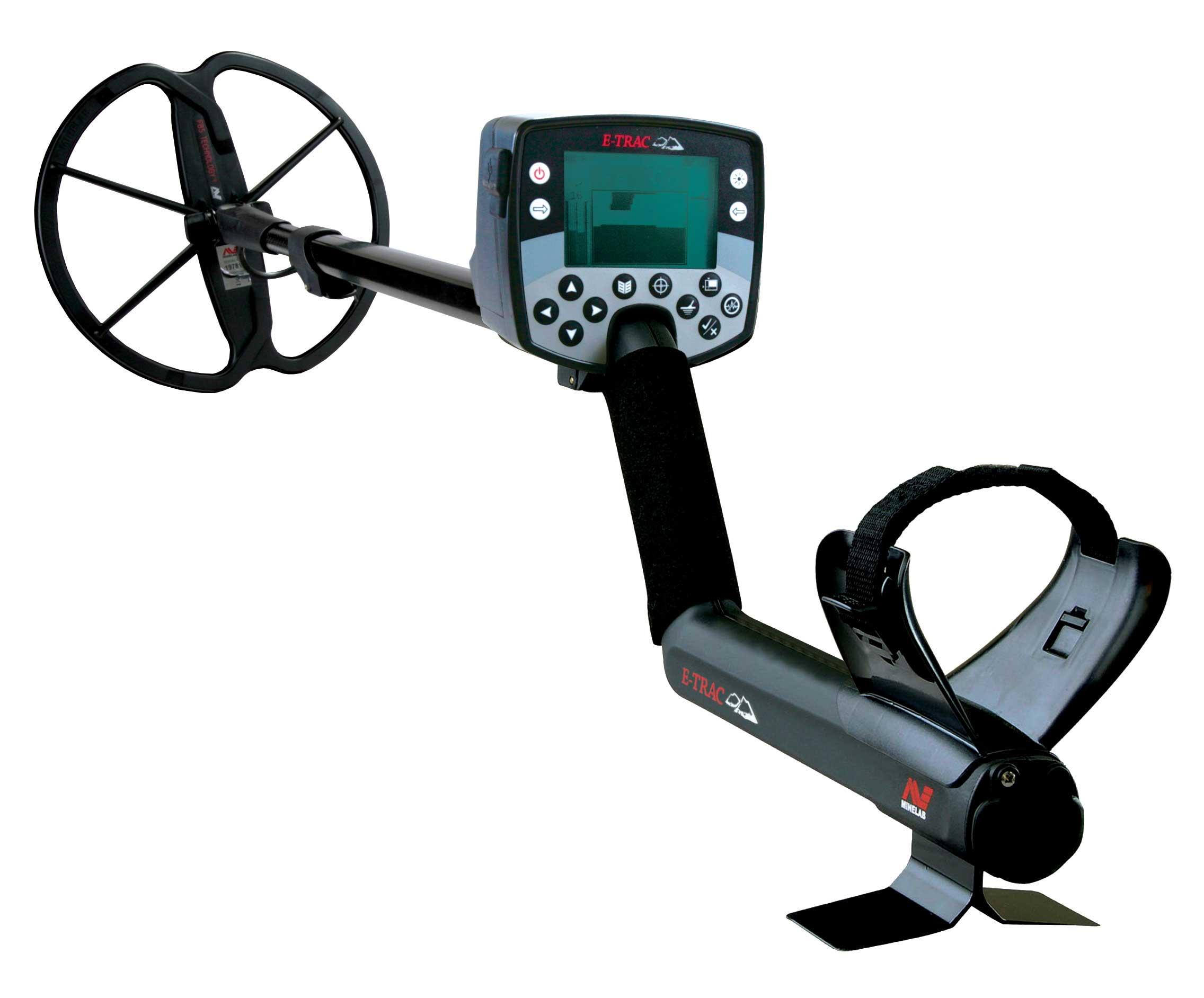 E-Trac  Minelab metal detector