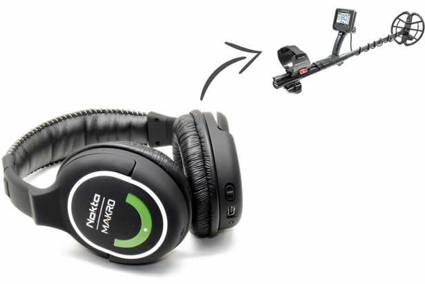 Wireless Headphone for metal detecting no latency