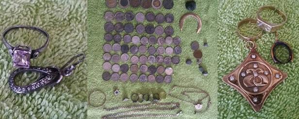 Kruzer treasure found Metal detector